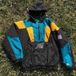 Vintage Jacksonville Jaguars Starter puff coat